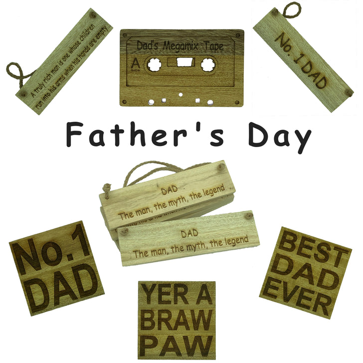 Father's Day gifts from Craftypups