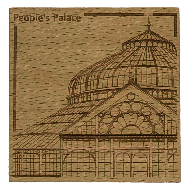Glasgow landmark coaster - People's Palace