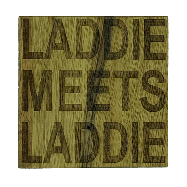 Scottish dialect coasters - laddies and lassies - Laddie meets Laddie