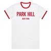 PH Classic Ringer Tee - White/Red