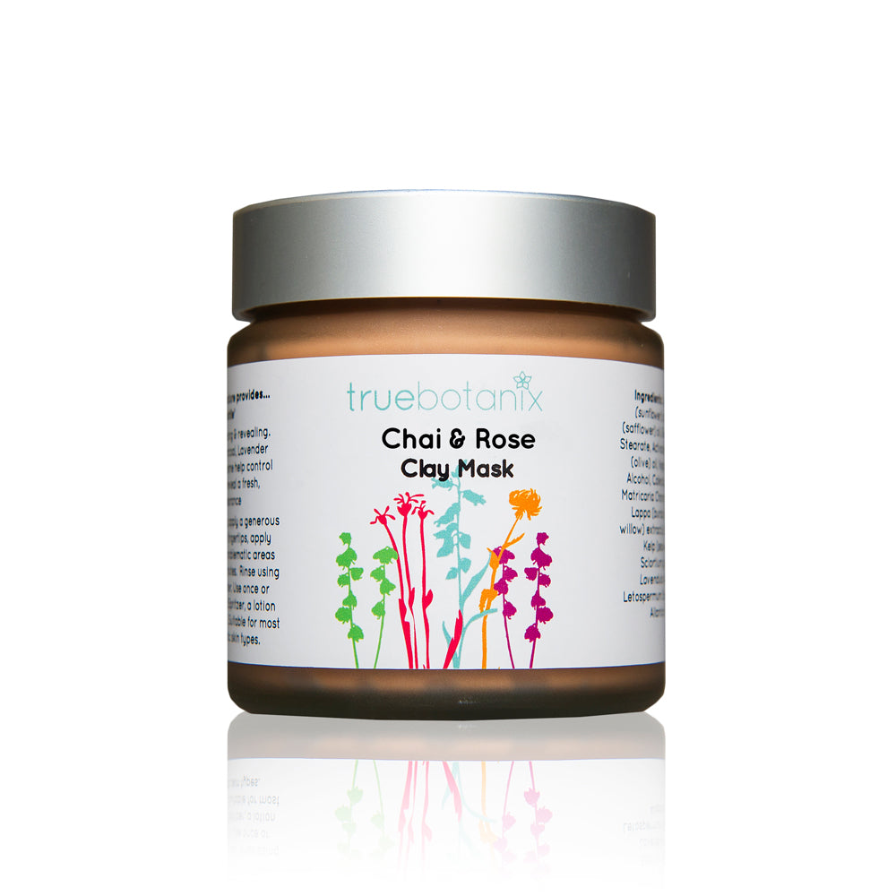 Chai & Rose Clay Mask