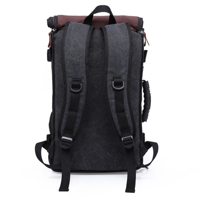2546f657f81d ... Stylish Travel Large Capacity Backpack Male Luggage Shoulder Bag  Computer Backpacking Men Functional Versatile Bag ...