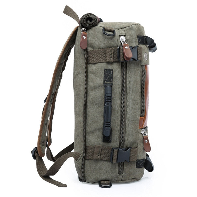 ... Stylish Travel Large Capacity Backpack Male Luggage Shoulder Bag  Computer Backpacking Men Functional Versatile Bag ... 8127a23e678ae