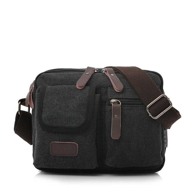 7235a29865ab ... Vintage Ladies Canvas Small Messenger Bag Men Casual Crossbody Bags For  Women Satchel Leisure Men Male ...