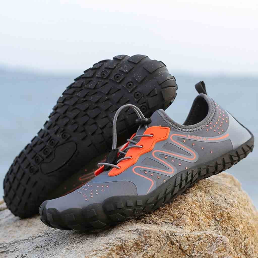 77ccc4b961d2 ... Unisex Quick-Dry Water Shoes Pool Beach Swim Drawstring Shoes Creek  Diving Shoes ...