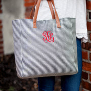 Houndstooth Tote