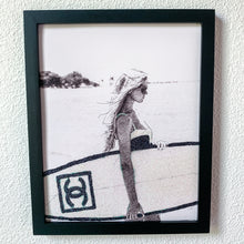 Load image into Gallery viewer, Chanel Inspired Surfer Print