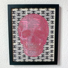 Load image into Gallery viewer, Chanel Inspired Skull Print
