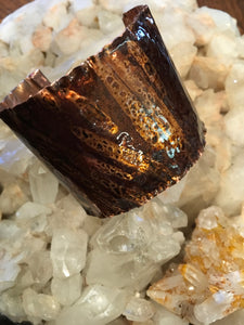 Resin & Copper Bracelet