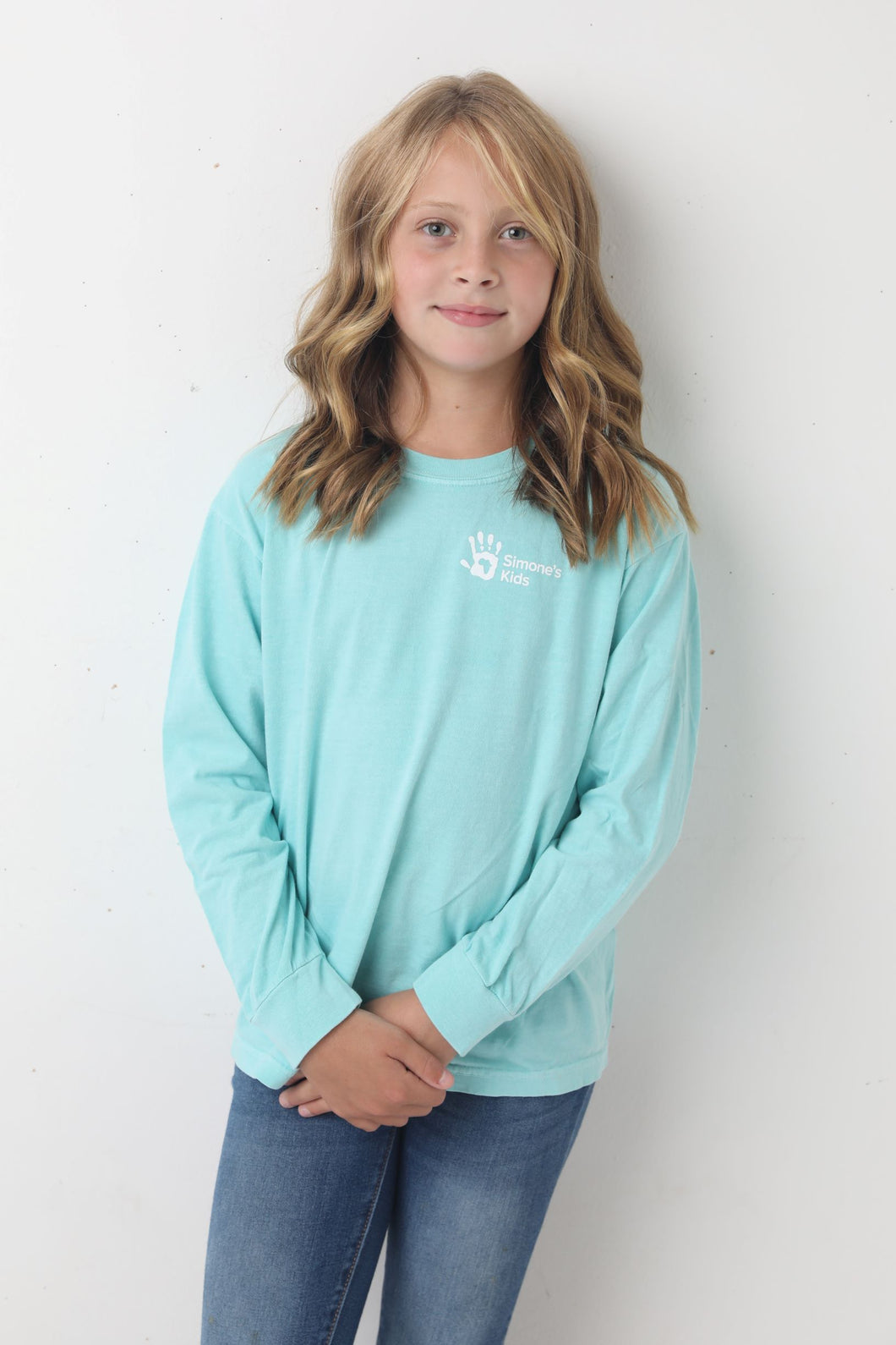 Child Long Sleeve T-Shirt Education Brings Hope