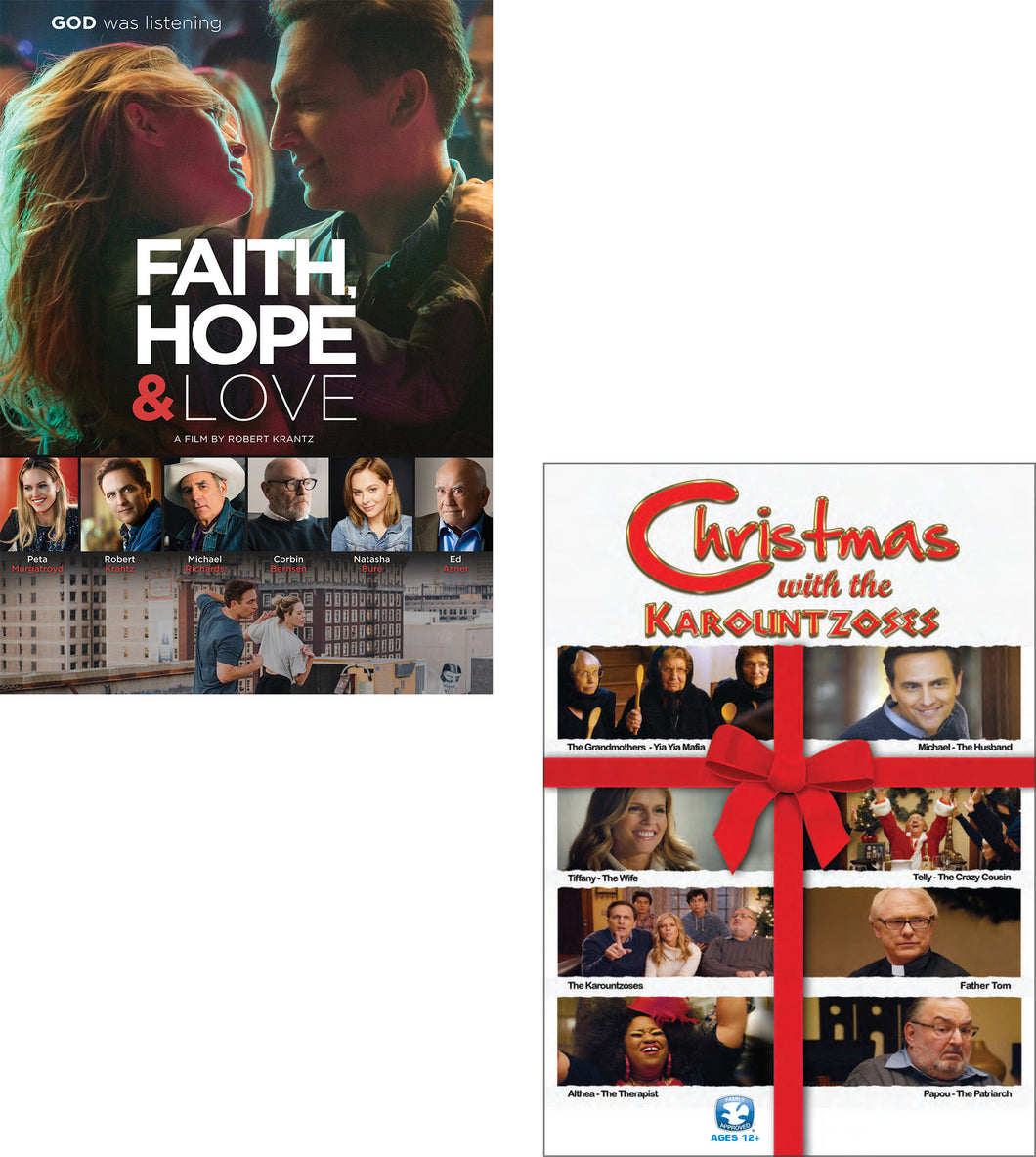 Faith, Hope & Love / Christmas With The Karountzoses - DVD 2-Pack