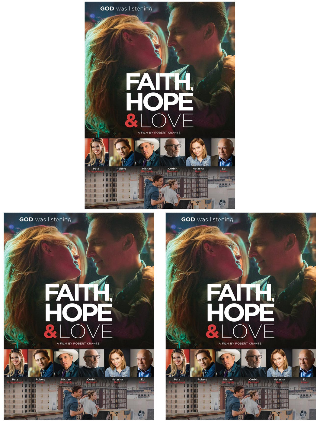Faith, Hope & Love - DVD 3-Pack