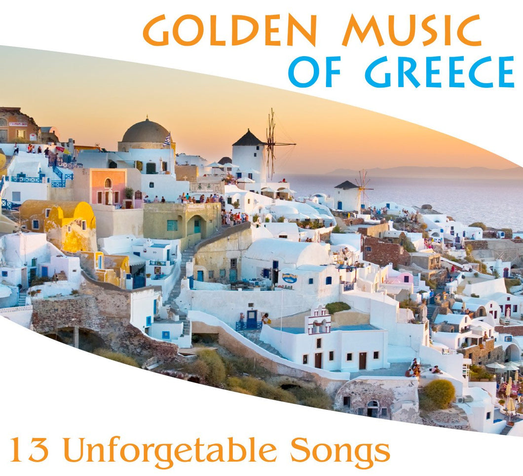 golden music greece cd