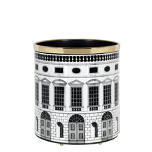 Load image into Gallery viewer, Fornasetti Paper Basket - Architettura