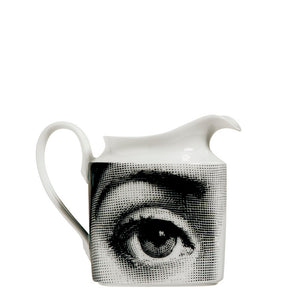 Fornasetti Milk Jug - Themes & Variations - Black & White