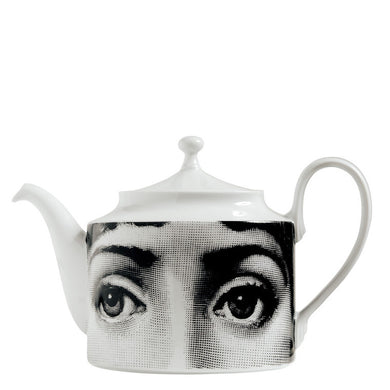 Fornasetti Teapot Themes & Variations - Black & White