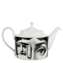 Load image into Gallery viewer, Fornasetti Teapot Themes & Variations - Black & White