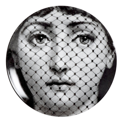 Fornasetti Wall Plate #078