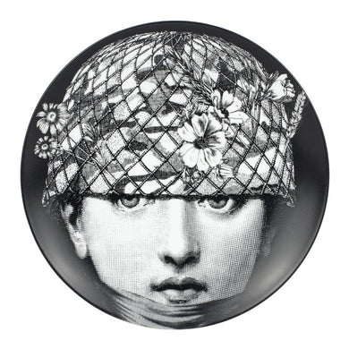 Fornasetti Wall Plate #384