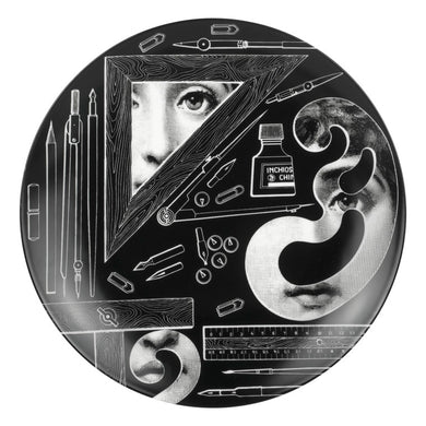 Fornasetti Wall Plate #391