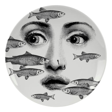 Fornasetti Wall Plate #392