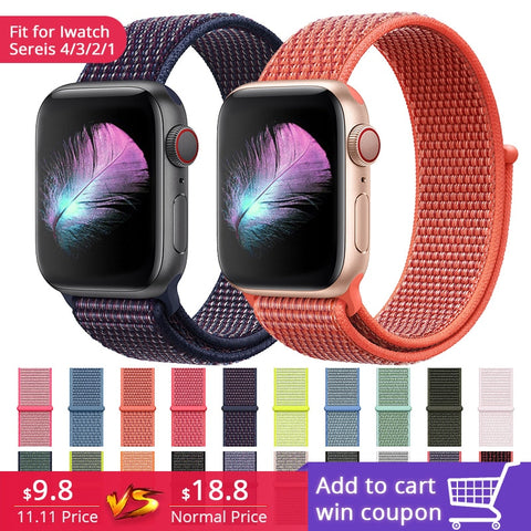 NEW Replacement Band Woven Strap for Apple Watch