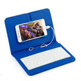 Portable Universal Keyboard Flip Case