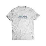 CAMISETA JUST LOVE JUST ENOUGH AZUL