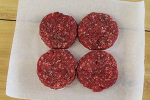 4 x Gourmet Beef Patties