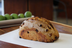 Organic Fruit Sourdough Bread