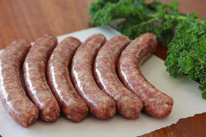6 x Lamb Sausages