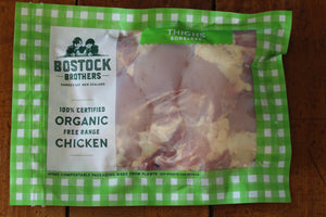 Bostock Brothers Organic Free Range Boneless Chicken Thighs
