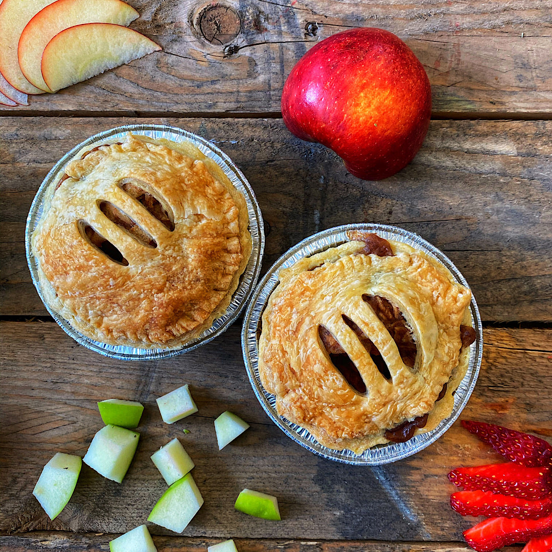 2 x Gourmet Apple Pies