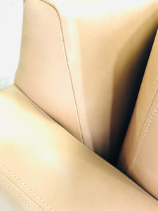 Bella Luxe Italian Leather Chair