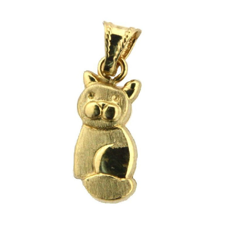 18K Yellow Gold Cat CharmAmalia J. & Boutique Charms