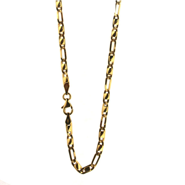 18K Solid Yellow Gold chain 24 inches 9.25 gramsAmalia J. & Boutique Lady Gold Jewelry