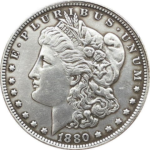 1880 Morgan Silver Dollars Value