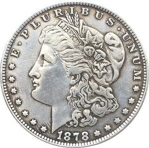 1878 Morgan Dollar Coin - COINSPESO