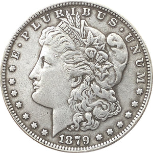 1879 Morgan Dollar Coin - COINSPESO