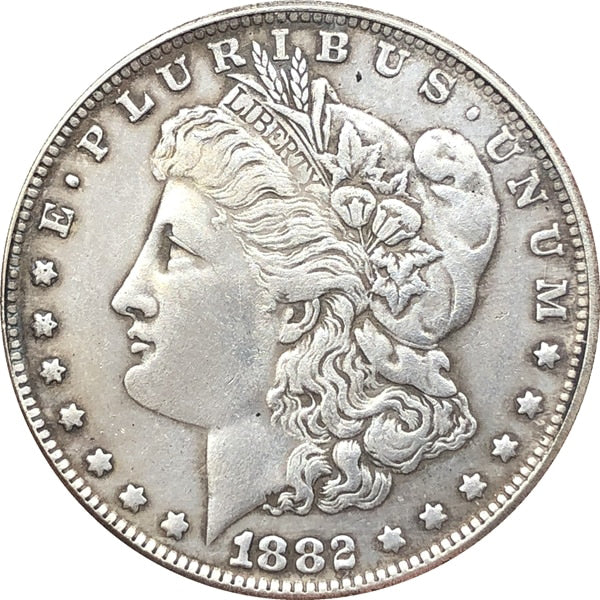 1882 Morgan Dollar Coin - COINSPESO