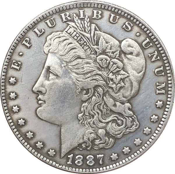 1887 S Morgan Dollar Coin - COINSPESO