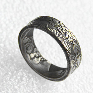 US Morgan Dollar Ring Handmade In Sizes 5-15 - COINSPESO