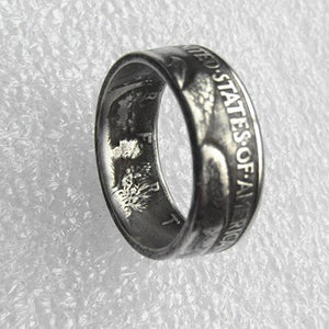 US Walking Half Dollar Ring Eagle Handmade In Sizes 5-15 - COINSPESO
