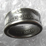 US 1935 Old 'Date' Half Dollar  Ring In Sizes 5-15 - COINSPESO