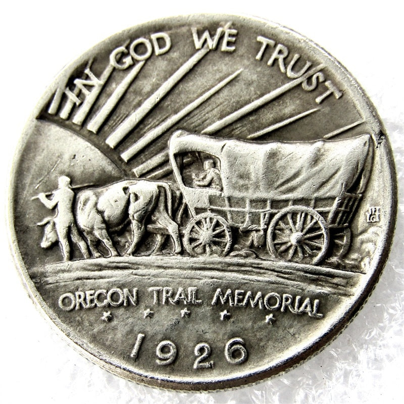 1926-S Oregon Trail Commemorative Half Dollars - COINSPESO