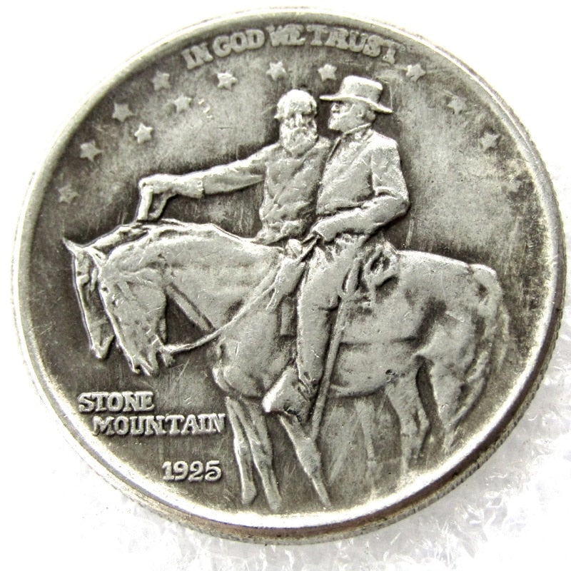 1925 Stone Mountain Commemorative Half Dollars - COINSPESO