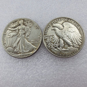 1939 Walking Liberty Half Dollar - COINSPESO