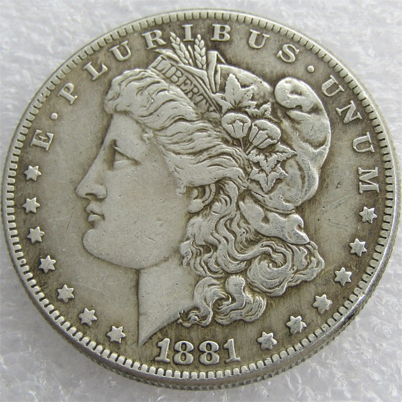 1881-CC US Morgan Dollar - COINSPESO