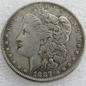 1887-O Morgan Dollar - COINSPESO