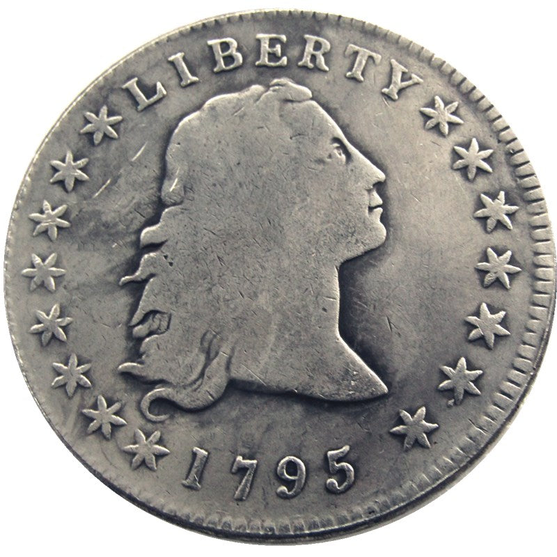 1795 Flowing Hair Brass - COINSPESO